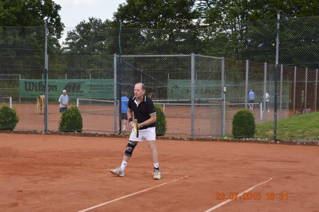 Gerd Schmidt Nr. 1 der Herren 60+, Rheinlandliga