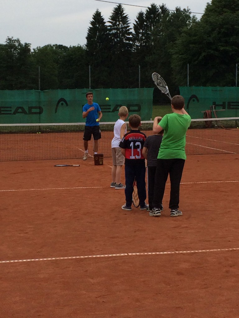Jugendtraining mit Trainer Yannick